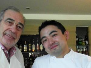Yu Sugimoto Chef des Cuisines de L'Espérance