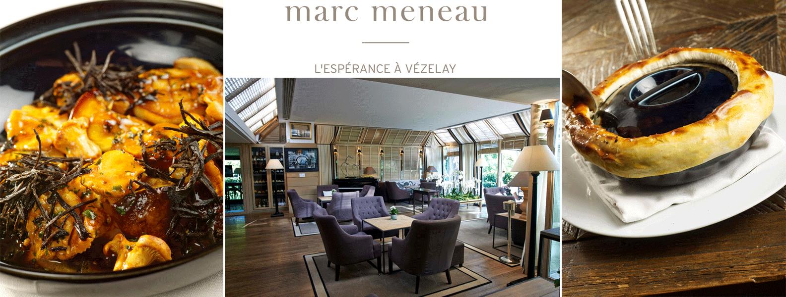 Coffrets Cadeaux L'Espérance à Vézelay Marc Meneau